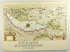 #e6708 Alte Karten aus Meisterhand Sammelmappe 1979 VEB Hermann Haack