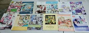 Stampin' Up! Retired Idea Book and Catalogs (lot of 12)