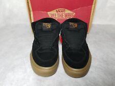 New Vans Half Cab Suede Gum Brown Black Skate Mid Shoe Sneaker Men Size 6.5