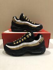 pretty nice b159a fb1aa Nike Air Max 95 OG AT2865-002 BLACK METALLIC GOLD Mens size 5.5