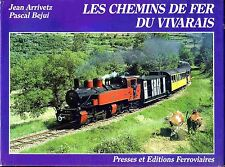 LES CHEMINS DE FER DU VIVARAIS (train, locomotive)