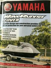 Yamaha Jet Ski WaveRunner V1 Heavy Duty Trailerable JetSki PWC Cover Yellow//blk