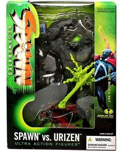 McFARLANE SPAWN VS URIZEN SPAWN REGENERATED SERIES 28 DELUXE BOXED SET