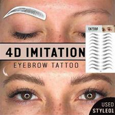 Hair like Eyebrow Sticker Eye Brow Tattoo Long Lasting False Eyebrow Enhancer