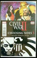 Civil War II, CHOOSING SIDES #5 (MARVEL Comics) ~ VF/NM Comic Book