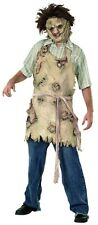 Texas Chain Saw Massacre Deluxe Adult Latex Leatherface Apron Of Souls fnt