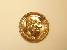 Gold colored / plated bronze medal:  President Abraham Lincoln