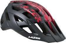 Lazer Roller Matt Black / Red Medium Helmet 2016 Mat Bk/rd