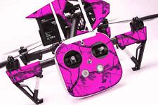 DJI Inspire 1 Quadcopter/Drone, Transmitter, Battery Wrap/Skin | Blaze Camo Pink