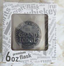 McMenamins Grand Lodge Stainless Steel 6 oz Flask