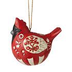 Jim Shore 6006627 Nordic Noel Cardinal Ornament 2020 NEW Christmas Bird