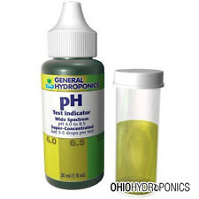General Hydroponics pH Test Indicator Control Kit 30 ml - up down wide spectrum