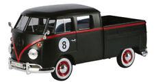 VW Double Cab Type 2 T1 matt-schwarz 8 Ball Custom - Volkswagen * Motor Max 1:24