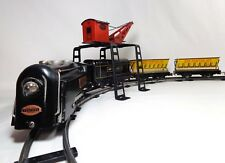 LOUIS MARX & CO VINT 1950'S NEW YORK CENTRAL LINES ELECTRIC TIN LITHO TRAIN SET