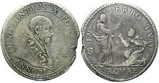 Stato Pontificio - Innocenzo X (1644-1655) - Piastra g.31,5 - Anno II