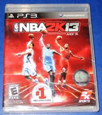 NBA 2K13 PlayStation 3 *Brand New! (Torn Cellophane) *Free Shipping!