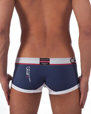 CROOTA Mens Underwear Boxer Briefs, Low Rise Hipster, Trunk, Large