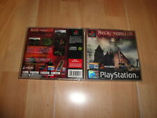 NECRONOMICON EL ALBA DE LAS TINIEBLAS SURVIVAL HORROR PARA LA PS1 EN BUEN ESTADO