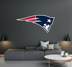New England Patriots - Football Team Logo - Wall Decal Removable & Reusable Home