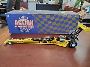 1998 Eddie Hill Pennzoil 1:24 NHRA Top Fuel Dragster Action MIB 1/3500