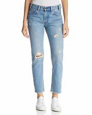 Levi's Women's 505C Cropped Straight Leg Blue Wash Jeans Size 29