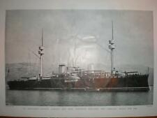 Photograph Spain Battle-ship Pelayo 1898