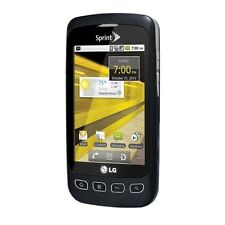 LG Optimus S LS670 Black (Sprint) 3G Android Smartphone Touchscreen BT Wi-Fi