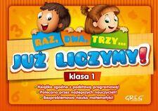 RAZ DWA TRZY JUZ LICZYMY KLASA 1 wys. 24h! edukacyjne polska ksiegarnia *JBOOK