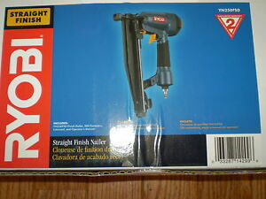 RYOBI YN250FSD STRAIGHT FINISH NAILER BRAND NEW!!