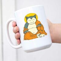 Buddha Snorlax Coffee Mug Tea Cup Novelty Gift Mugs