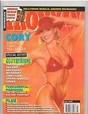 IRONMAN bodybuilding female muscle magazine/CORY EVERSON 7-96