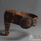 Sioux Commercial Leather Tacked Belt and Holster c.1880