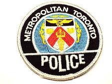 Vintage Metropolitan Toronto Police Patch Canadian Ontario Canada
