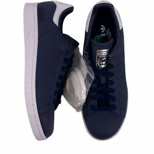 Adidas Stan Smith Navy blue Leather Sneakers Mens Size 8