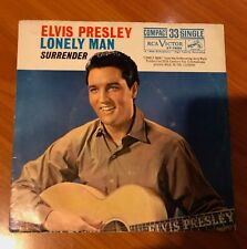 """ELVIS PRESLEY """"SURRENDER / Lonely Man""""~ COMPACT 33 SINGLE with SLEEVE ~MEGA RARE"""