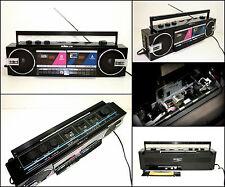 NIKKO RC-2868 3 Band Radio Double Cassette Boombox