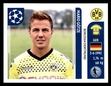 Panini Liga de Campeones 2011-2012 - Mario campeón Borussia Dortmund no. 407