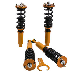 Kit de Combine Filetes Amortisseur Pour Honda Accord Acura 99-03 Coilovers shock