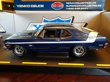 1970 YENKO DEUCE CHEVY NOVA LT1 350 1/18 GMP SUPERCAR COLLECTIBLES LTD ED USED
