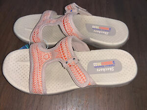 NWT Women's Taupe Skechers Outdoor Lifestyle Sandals 8