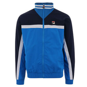 Fila Men's Diego Track Jacket LM911296-916 Size M Blue / White