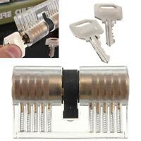 Pick Cutaway Visable Padlock Lock For Locksmith Practice Key Training Skill Set