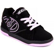 Scarpe neri marca Heelys per bambini dai 2 ai 16 anni lacci