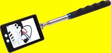 BGS 9302 LED Inspektionsspiegel mit Licht Teleskopauszug Spiegel 285-870mm