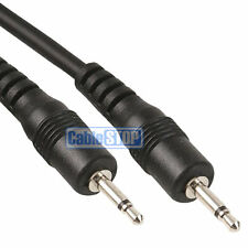 2m MONO 2.5mm Mini Jack to Jack Male Plug Audio Headphone Cable Lead 2 METRES