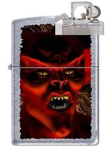 Zippo 5027 monster devil street Lighter with PIPE INSERT PL