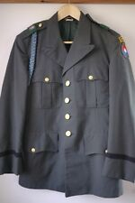Vintage 1956 US Army Ranger AG-344 Green Wool Officers Dress Uniform Coat 38S