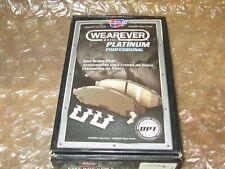CARQUEST WEAREVER  PLATINUM PROFESSIONAL CERAMIC PXD1047BH Disc Brake Pad Set