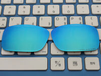 Replacement Ice Blue Polarized Lenses for-Oakley Crankcase Sunglasses OO9165