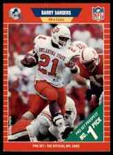 1989 Pro Set Barry Sanders RC Lions #494